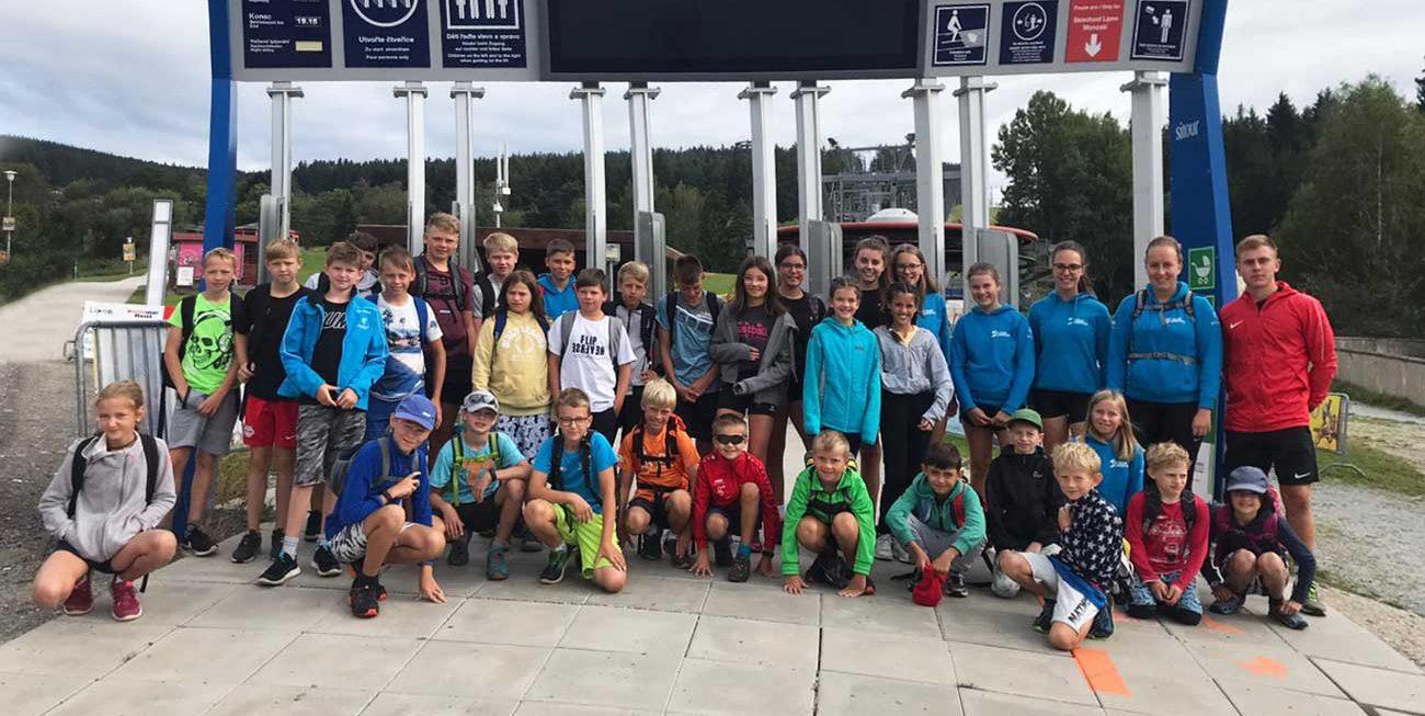 Sommercamp der Sektion Ski in Helfenberg
